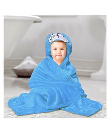 Kassy Pop Microfiber Fleece Hooded Blankets - Blue