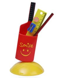 Buddyz Cricket Bat Stationery Kit - Red Yellow