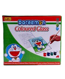 Doraemon DIY Coloured Glass - Blue