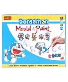Doraemon DIY Mould & Paint - Multicolour