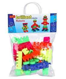 Buddyz Robot Building Blocks Set - Multicolour