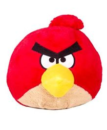 Angry Birds Soft Toy Red - Height 12.7 cm