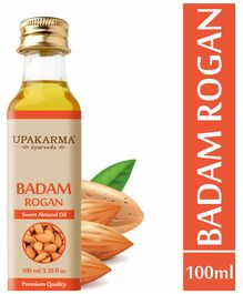 Upakarma Ayurveda's  Badam Rogan Sweet Almond Oil - 100 ml
