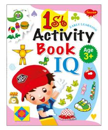 1st Activity IQ Book - English