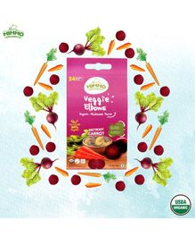 Mimmo Organics Veggie Elbows Organic Wholegrain Pasta Infused With Vegetables -250 gm