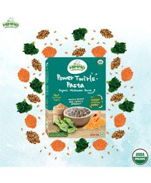 Mimmo Organics Power Twirls Organic High  Protein Pasta Infused With Vegetables - 250 gm