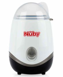 Nuby Electric Bottle Warmer & Steriliser - White