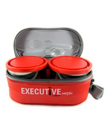 Milton Insulated Executive Lunch Box Set of 6 - Orange