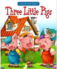 Three Little Pigs Story Book - English