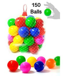 Eevovee Plastic Play Balls Pack of 150 - Multicolour