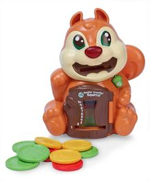 Leap Frog Number Crunching Squirrel - Brown