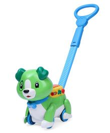 Leap Frog Step & Learn Scout Puppy - Green
