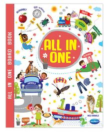 My All in one Board Book - English