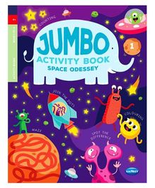 Jumbo Activity Book 1 - English