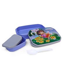 Dora Big Lunch Box -Blue