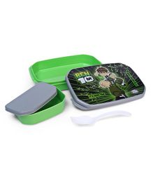 Ben 10 Big Lunch Box - Green