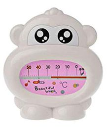 Safe-O-Kid- Monkey Shaped Thermometer - White