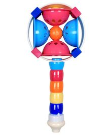 Ole Baby Colorful Geometric Design Rattle - Multicolour