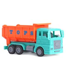 IndiaBuy Pull Back Construction Truck Toy - Green Orange