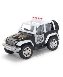 Centy Ranger Adventure Pull Back Jeep - White & Black