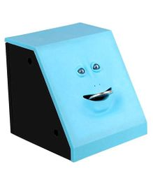 Webby Battery Operated Money Eating Coin Bank - Blue