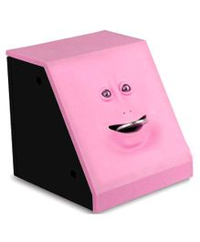 Webby Battery Operated Money Eating Coin Bank - Pink