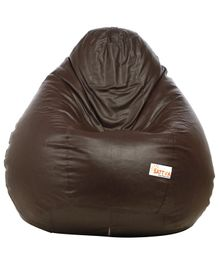 Sattva Classic Bean Bag With Beans Extra Large - Brown