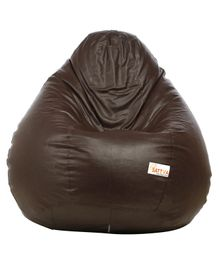 Sattva Classic Bean Bag With Beans XXL - Brown