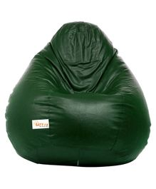 Sattva Classic Bean Bag With Beans Extra Large - Dark Green