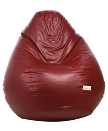 Sattva Classic Bean Bag Cover Without Beans Extra Large - Maroon