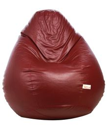 Sattva Classic Bean Bag Cover Without Beans XXL - Maroon