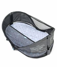 Munchkin Fold And Go Bassinet - Grey