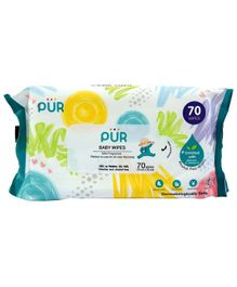 Pur Baby Wet Wipes - 70 Wipes
