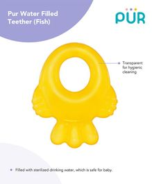 Pur Fish Shaped Water Filled Teether (Colour May Vary)