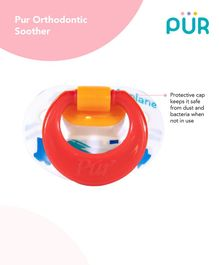 Pur Orthodontic Soother - White