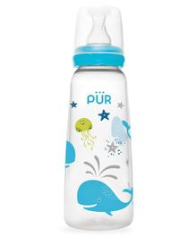 Pur Straight Classic Bottle Blue - 250ml