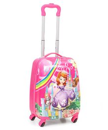 Disney Princess Kids Trolley Bag - Pink