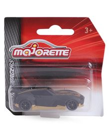 Majorette Friction Powered Racer Toy Car - Black