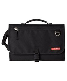 Skiphop Pronto Signature Diaper Bag Cum Changing Mat - Black