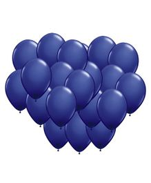 Toy Jumble Solid Pack of 35 Plain Blue Balloons for Decorations and Parties Balloon (Blue, Pack of 35)