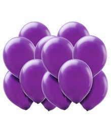 Toy Jumble Solid Pack of 35 Plain Purple Balloons for Decorations and Parties Balloon (Purple, Pack of 35)