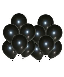 Toy Jumble Solid Pack of 35 Plain Black Balloons for Decorations and Parties Balloon (Black, Pack of 35)
