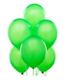 Toy Jumble Solid Pack of 35 Plain Green Balloons for Decorations and Parties Balloon (Green, Pack of 1)