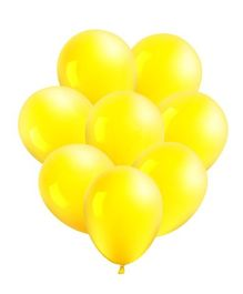 Toy Jumble Solid Colour Balloons for Decorations And Parties Yellow - Pack of 1