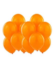 Toy Jumble Solid Colour Balloons for Decorations And Parties Orange -Pack of 35