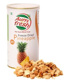 Aumfresh Freeze Dried Pineapple - 25 gm