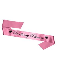 Skylofts Birthday Princess Sash - Pink