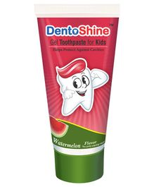 DentoShine Watermelon Flavoured Gel Toothpaste - 80 g