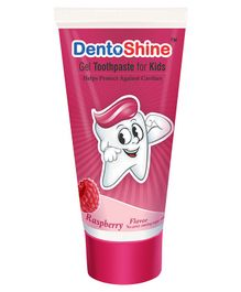 DentoShine Raspberry Flavoured Gel Toothpaste - 80 g