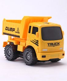 65684a1fe7e83 Mitashi Hobby Lobby Truck Masters My Utility Dumper 34 Pieces - Yellow